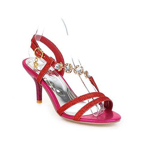 Adee , Damen Sandalen, Rot - rot - Größe: 38