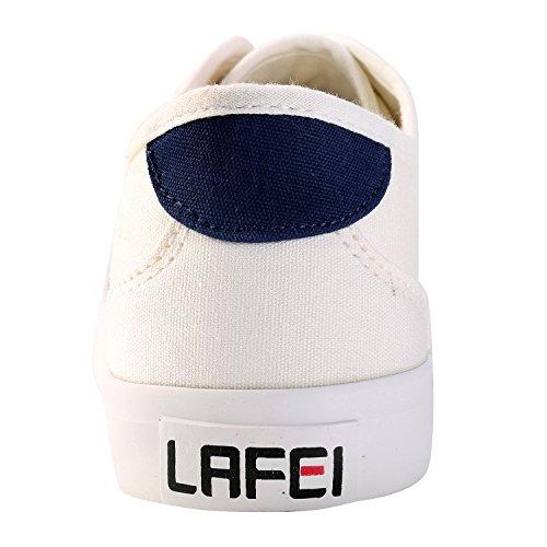 Alexis Leroy Zapatos con cordones Casual y Deportivo para mujer Blanco