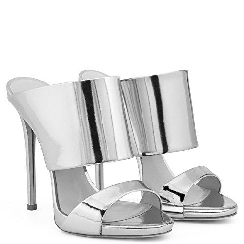 XUE Femmes Chaussures PU Confort d't Sandales Chaussures de Marche Talon Stiletto Pointu Talon Mariage/Soire/Soire/Robe Sandales/Pantoufles et Tongs Formal Business Work Wedding B