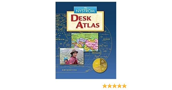 The Nystrom Desk Atlas 2016 Nystrom 9780782524802 Amazon Com Books