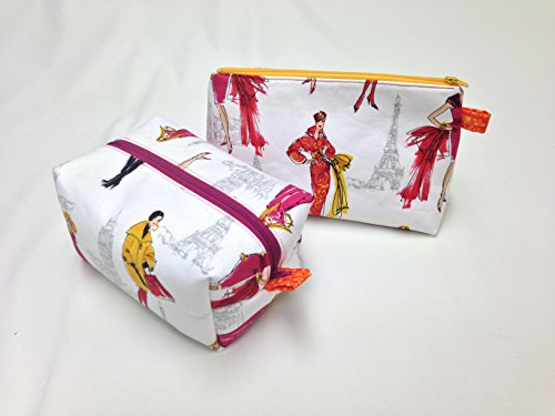 Chic City Girls Toiletry/Makeup Bag Set by Candace Sormani