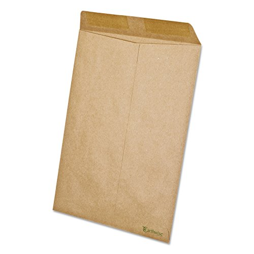 Earthwise by Ampad 19706 100% Recycled Paper Catalog Envelope, 9 x 12, Kraft (Box of 110) ()