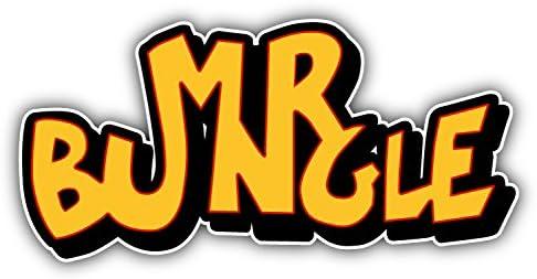 valstick Mr Bungle Car Bumper Sticker Decal