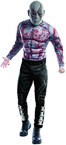 Rubie's Men's Guardians of The Galaxy Drax Costume, GOTG, Extra Large