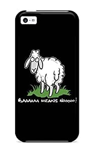 Excellent Iphone 5c Case Tpu Cover Back Skin Protector Funny Sheep