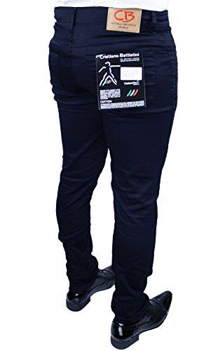 Calibrato Oversize 78 Elegante Cristiano Casual Taglie Sartoriale 100 Battistini 72 Blu 76 Italy In Made Pantalone 46 Jeans Forti Fino Da 74 Uomo 70 A pqPYcnf