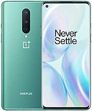 OnePlus 8 Glacial Green, 5G Unlocked Android Smartphone U.S Version, 8GB RAM+128GB Storage, 90Hz Fluid Displa