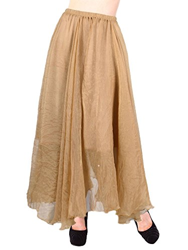 Simplicity Womens Chiffon Colored Pleated