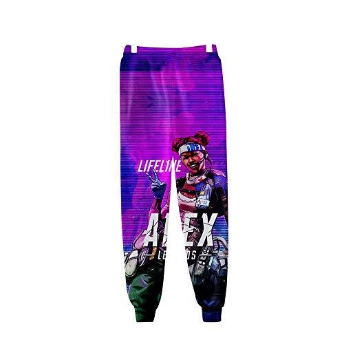 Survêtement Ikwo Pattern Unisexe Casual Legends 2019 Pantalons Sarouel Apex Sport Homme De Jogging Confortable 3 Nouveau 3d Pantalon Imprimé r8nx875qwf