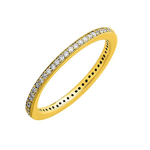 0.22 Ct Diamond Band - 1
