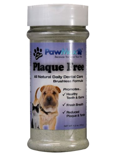 3 Bottles!! PawMax Plaque Free*Safe and Natural Dog/Cat Dental Sprinkles Fights Plaque and Tartar-Freshens Breath and Keeps Pets Healthy-Vet Approved Made in the USA! (only $1.99 SandH), My Pet Supplies