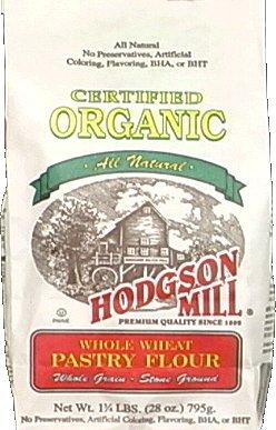 Hodgson Mill Flour Whole Wheat Pastry Organic, 28 oz