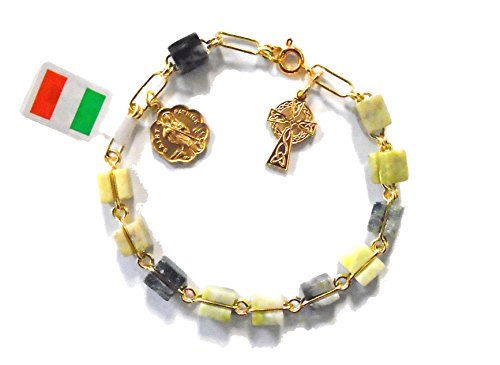 Connemara Marble Rosaries - Irish Rosary Bracelet Made From Connemara Marble by J. C. Walsh and Sons…