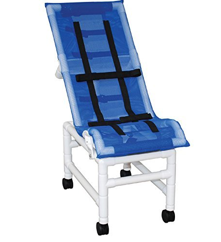 Reclining Bath Chair - MJM International 191-XLC-B Reclining Chair X-Large with Double Base, 225 oz Capacity, 56