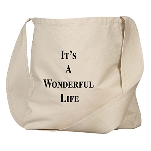 It'S A Wonderful Life Organic Cotton Canvas Market Bag Tote