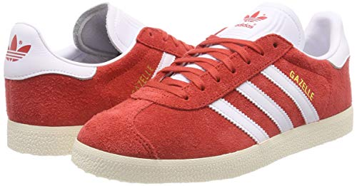 Hommes tactile White White Cream Gymnastique De Ftwr Chaussures F17 Pour Rouge Gazelle Red Adidas Xxq4AwBSB
