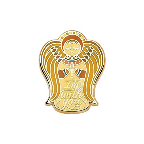 Asilda Store Lapel Enamel Pin [with Deluxe Pin Lock] (Angel I'm with You)