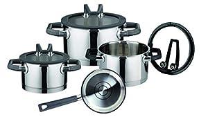 ELO Premium Black Pearl Stainless Steel Kitchen