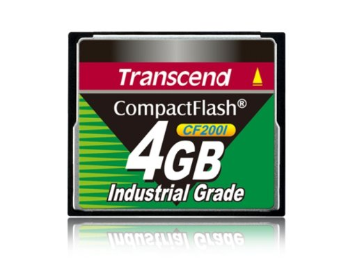 (Transcend 4GB Industrial Cf Card 200X (ULTRADMA4))