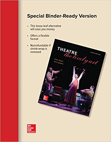 Amazon loose leaf theatre the lively art 9781259667800 loose leaf theatre the lively art 9th edition fandeluxe Image collections