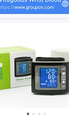 Travel Pulse Wrist Blood Pressure Monitor