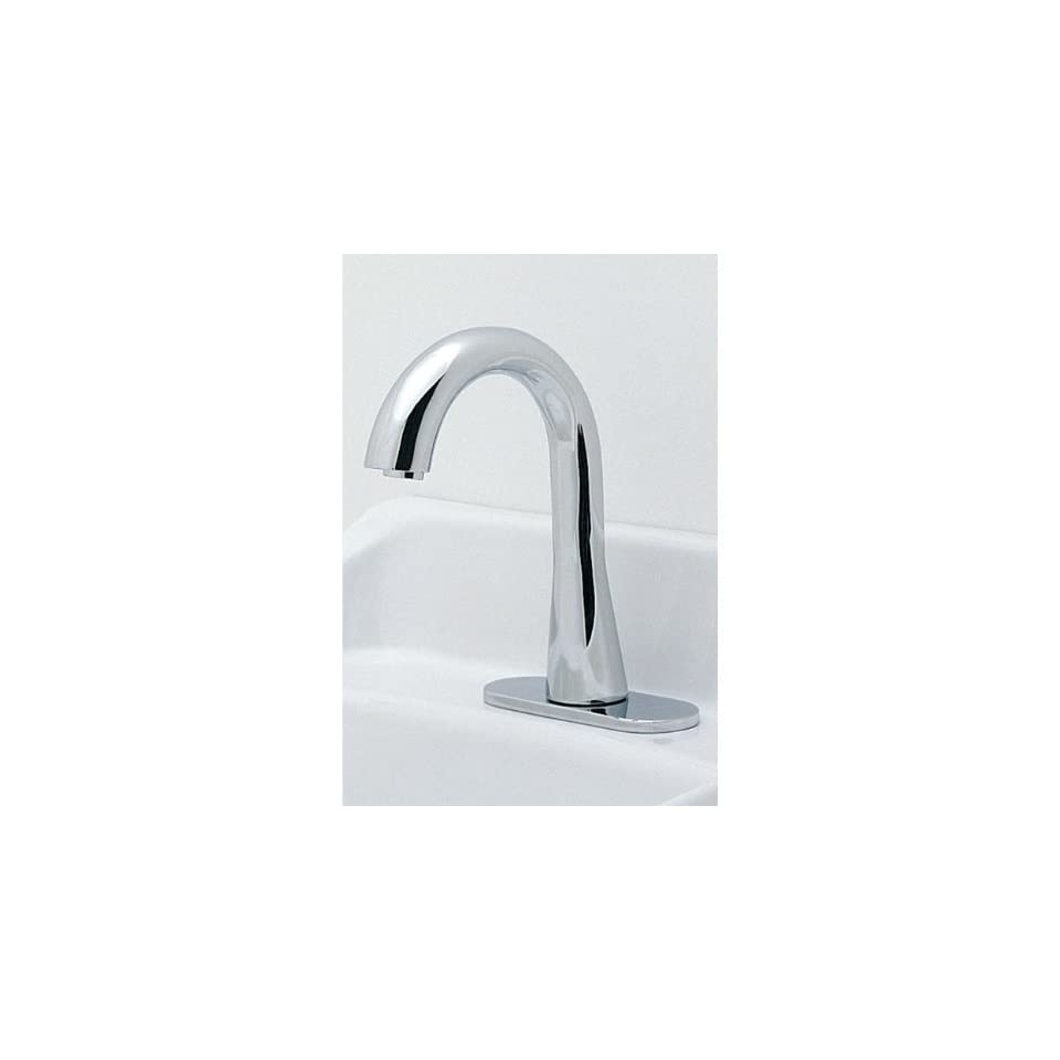 Toto TEL5LG10#CP Gooseneck EcoPower 0.5 GPM Thermal Mixing Faucet, Polished Chrome