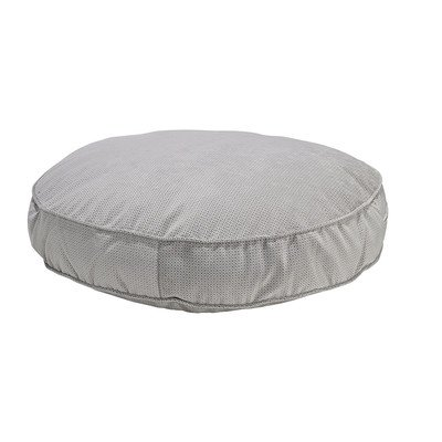 Bowsers Super Soft Round Bed, X-Large, Silver Treats