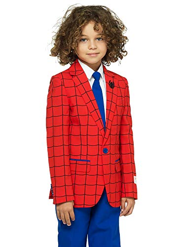 OppoSuits Crazy Suits for Boys in Different Prints – Comes with Jacket, Pants and Tie in Funny Designs ()