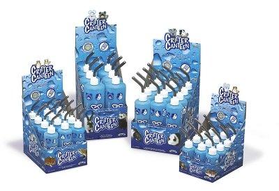 Superpet (Pets International) SSR100079420 12-Pack Critter Canteen Water Bottle Display, 4-Ounce