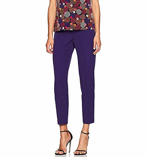 retch Slim-Fit Crepe Ankle Pants (Anne Klein Capris)