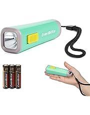 EverBrite Led-zaklamp klein lichtgroen kunststof 1 W met 3 AAA-batterijen