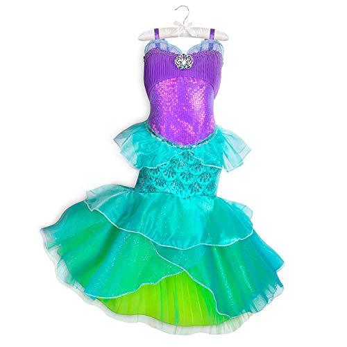 Disney Ariel Costume for Kids - The Little Mermaid Size 4 Multi