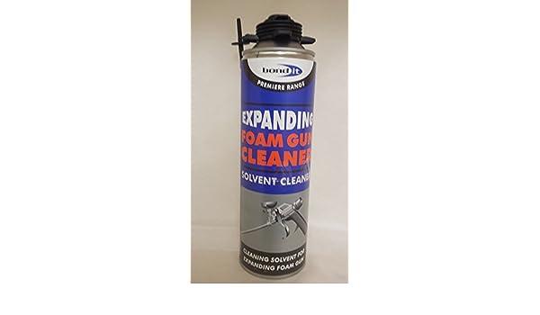 Limpiador para pistola de espuma Bond it, limpiador líquido de 500 ml, 2 unidades: Amazon.es: Bricolaje y herramientas