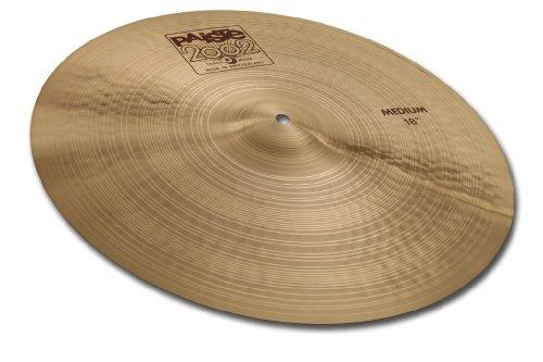 Paiste 2002 Classic Cymbal Medium Crash 18-inch - Paiste 2002 Ride Cymbal