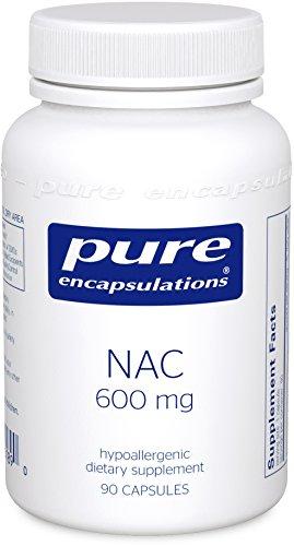 Pure Encapsulations N Acetyl L Cysteine Antioxidant Capsules