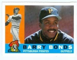 Barry Bonds Baseball Card Pittsburgh Pirates 1991 Topps