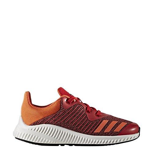 adidas FortaRun K - Zapatillas de deportepara niños, Rojo - (ESCARL/NARENE/FTWBLA), 28