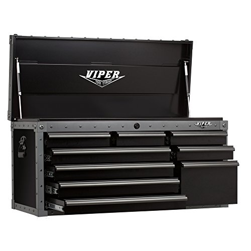 Series Professional Chest Tool Storage (Viper Tool Storage VV4109BLT-C Armor 41-Inch 9 Drawer Tool Chest)