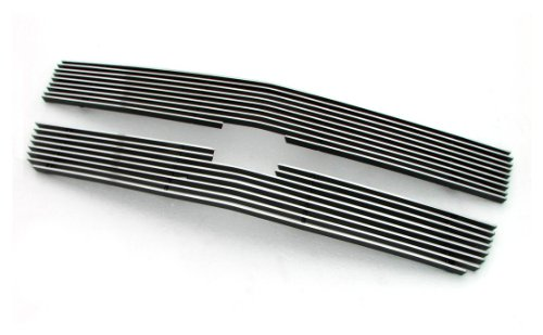 Paramount Restyling 36-0117 Overlay Billet Grille with 4 mm Horizontal Bars, 2 Piece