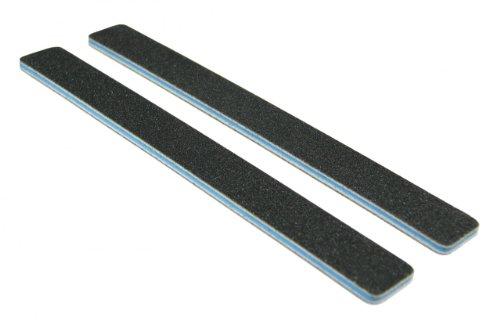 Standard Black 80/100 (Blu Ctr) Square End Nail File 12 Pack (Ctr 100)