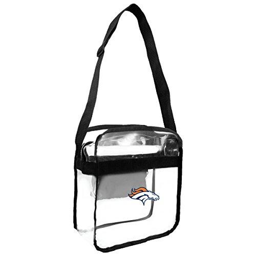 NFL Denver Broncos Clear Carryall Crossbody - Denver Nfl Stadium Broncos