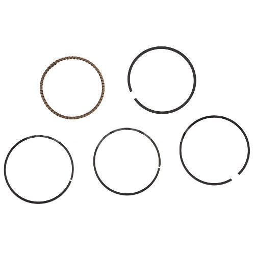 Piston Ring Set for 125cc ATVs Dirt Bikes Go Karts 125cc 125c Quad 4 Wheeler Pit ()