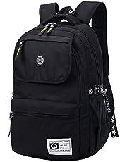 SUPA MODERN® Unisex Nylon School Bag Waterproof Hiking Backpack Cool Sports Backpack Laptop Bag
