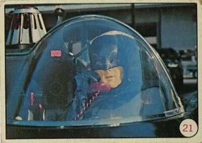 1966 Topps Batman Bat Laffs (Non-Sports) card#21 Batman of the Grade Near Mint from Topps