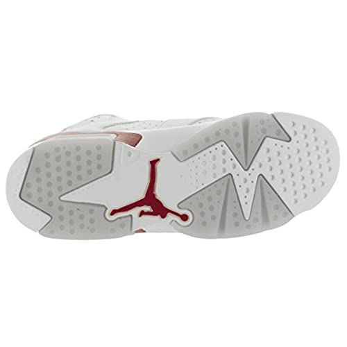 097db1fd7382 Nike Air Jordan 6 Retro OG BG (GS)  Maroon  - 836342-115 - Chic ...