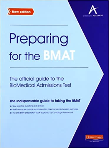 Preparing for the BMAT: The Official Guide to the BioMedical Admissions Test 2 Rev ed Edition price comparison at Flipkart, Amazon, Crossword, Uread, Bookadda, Landmark, Homeshop18
