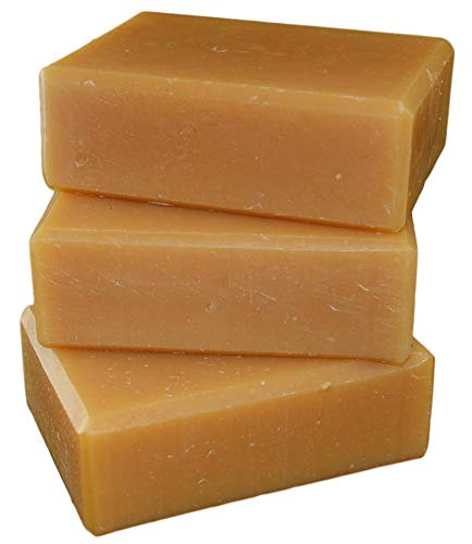 Ginger and May Chang all natural handmade cold process soap, essential oil soap. 3 bar pack 15 + oz.