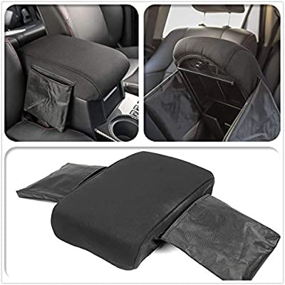 ZTYCKJ for Toyota 4Runner 2020 2020 2020 2020 Black Center Console Cover Armrest Pad with Storage Bag Protection Interior Accessories: Automotive