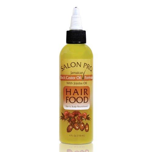 Salon Pro Hair Food Black Castor with Jojoba Oil 4oz
