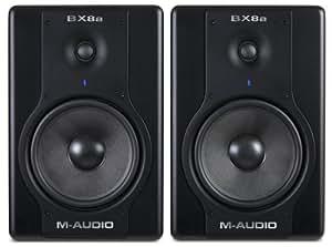 M-Audio Studiophile BX8a Deluxe 130-watt Bi-amplified Studio Reference Monitors